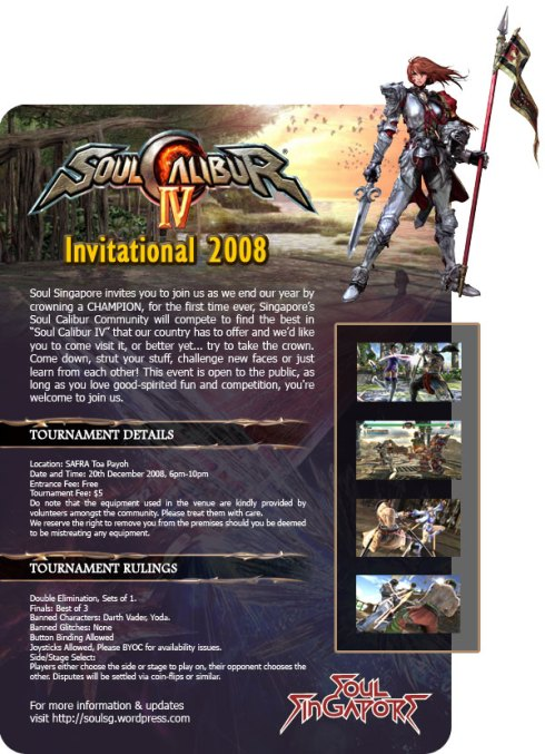 Tournament Flyer